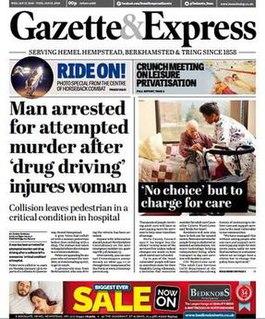 <i>Hemel Hempstead Gazette & Express</i>