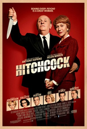 Hitchcock (film) - Theatrical film poster
