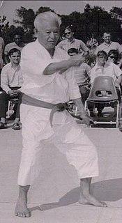 Hohan Sōken Okinawan karateka