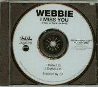I Miss You (Webbie song) - Image: I Miss You (Webbie song)
