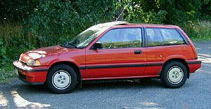 Honda Civic (third generation) - 1987 Honda Civic Si