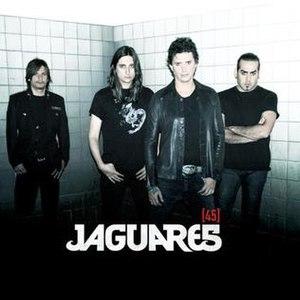 45 (Jaguares album) - Image: Jaguares 45 portada