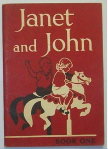 Janet and John, Book 1, first edition cover 1949.png