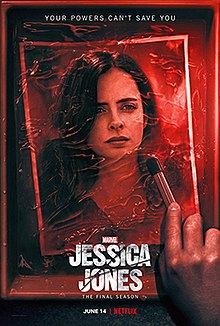 Image result for jessica jones season 3 poster