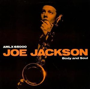 Body and Soul (Joe Jackson album) - Image: Joe Jackson Body And Soul