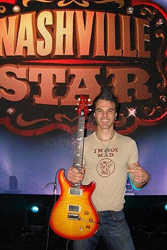 John Bohlinger (musician) - Image: John Bohlinger Nashville Star 2