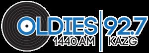 KAZG - Image: KAZG OLDIES92.7 1440 logo
