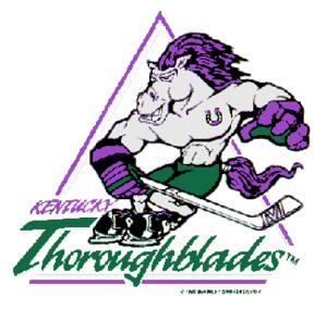 Kentucky Thoroughblades - Image: Kentucky thoroughblades