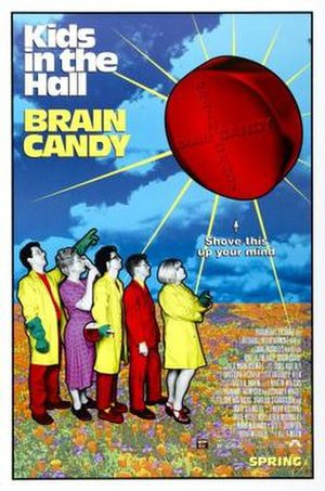 Kids in the Hall: Brain Candy - Theatrical release poster