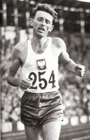 Zdzisław Krzyszkowiak - Krzyszkowiak in 1960