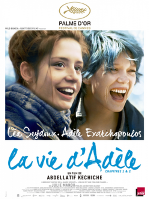Blue Is the Warmest Colour - Theatrical release poster