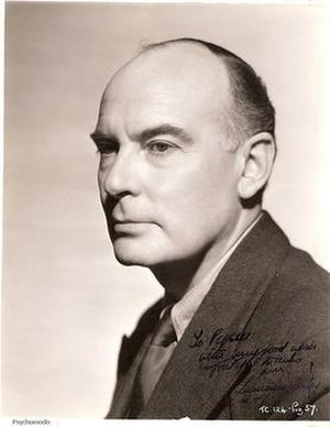 Laurence Irving (set designer) - Laurence Irving in 1947
