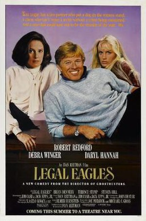Legal Eagles - Theatrical release poster
