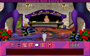Leisure Suit Larry 6: Shape Up or Slip Out! - The lobby area of La Costa Lotta