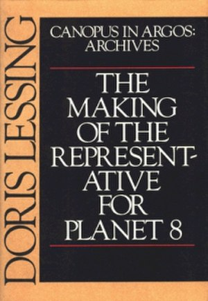 The Making of the Representative for Planet 8 - US first edition cover (Alfred A. Knopf)