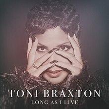 Resultado de imagem para long as i live toni braxton cover art