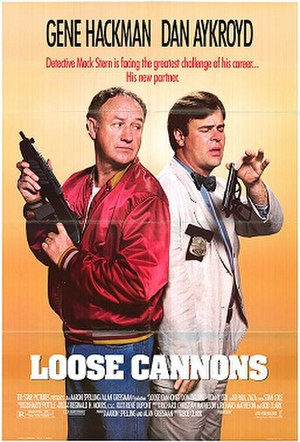 Loose Cannons (1990 film) - Theatrical release poster