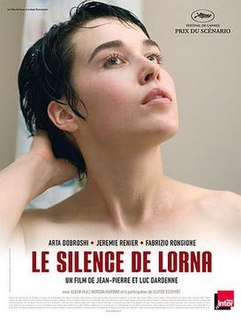 <i>Lornas Silence</i> 2008 film by Dardenne brothers