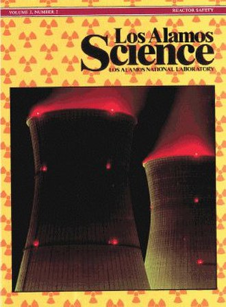 Los Alamos Science - Title page of Vol.2, No.2, Summer/Fall 1981, on Reactor Safety