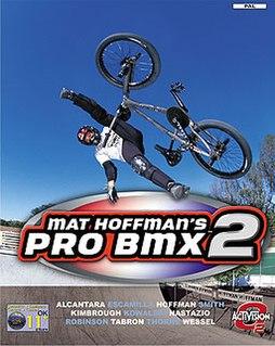 <i>Mat Hoffmans Pro BMX 2</i> 2002 video game