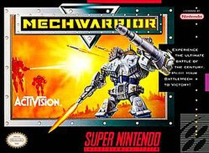 MechWarrior (1993 video game) - North American cover art