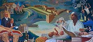John Sherrill Houser - Medical Education Mural by John Sherrill Houser, 1967, Oregon Health & Science University