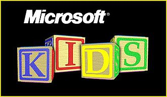 Microsoft Home - Microsoft Kids Logo