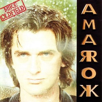 Amarok (Mike Oldfield album) - Image: Mike oldfield amarok album cover
