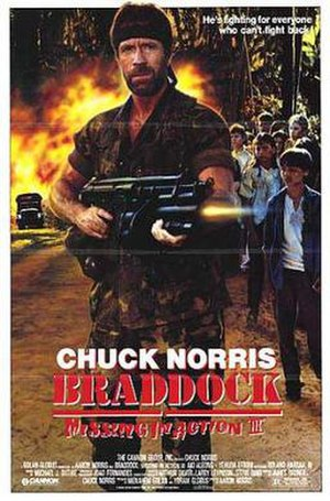 Braddock: Missing in Action III - Theatrical release poster