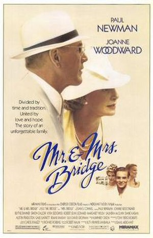 Mr. and Mrs. Bridge - Theatrical poster