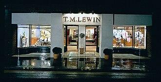 T. M. Lewin - T. M. Lewin shop in Jermyn Street