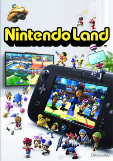 <i>Nintendo Land</i> 2012 party video game