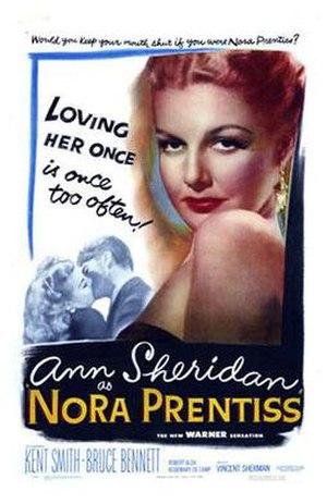 Nora Prentiss - Theatrical release poster