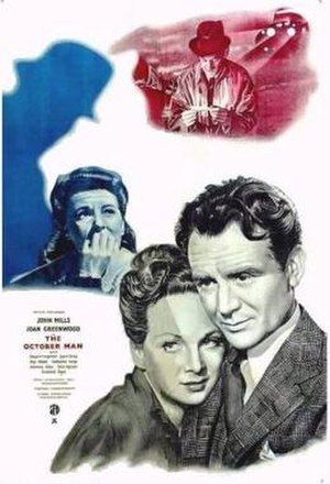 The October Man - theatrical poster