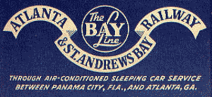 Atlanta and St. Andrews Bay Railroad - Image: Old Bay Line Railroad logo