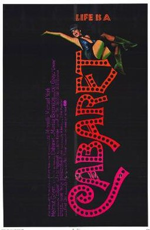 Cabaret (1972 film) - Theatrical release poster