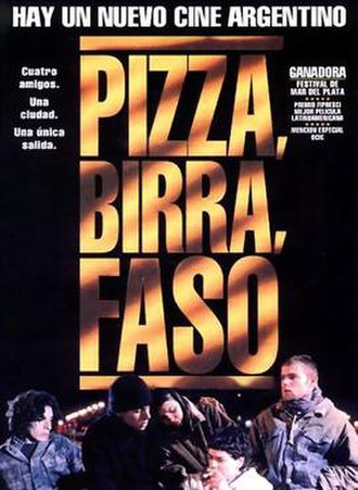 Pizza, Beer, and Cigarettes - Theatrical release poster