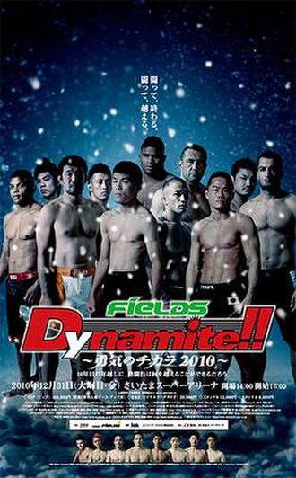 Dynamite!! 2010 - Image: Poster dynamite 2010