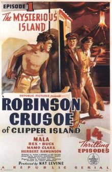 Poster of the movie Robinson Crusoe of Clipper Island.jpg