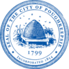 Official seal of Poughkeepsie, New York