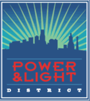 Kansas City Power & Light District - Image: Power & Light District logo