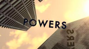 Powers (U.S. TV series) - Image: Powers logo
