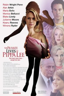 <i>The Private Lives of Pippa Lee</i> 2009 film by Rebecca Miller