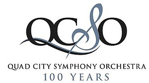 Quad City Symphony Orchestra - official logo