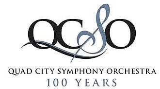 Quad City Symphony Orchestra - official logo