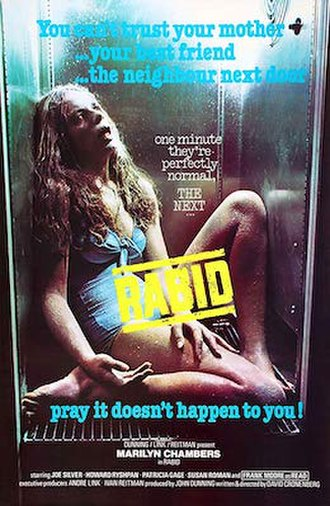 Rabid (film) - Theatrical poster