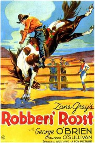 Robbers' Roost (1932 film) - Theatrical release poster