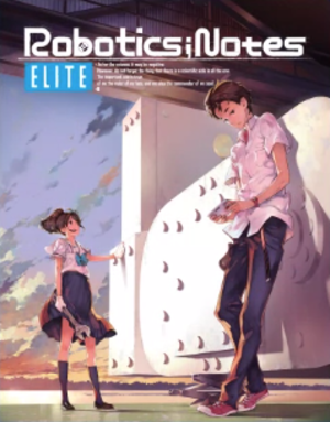 Robotics;Notes - Cover art