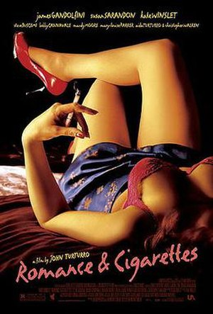 Romance & Cigarettes - Theatrical release poster