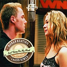 Ronan Keating and LeAnn Rimes — Last Thing on My Mind (studio acapella)